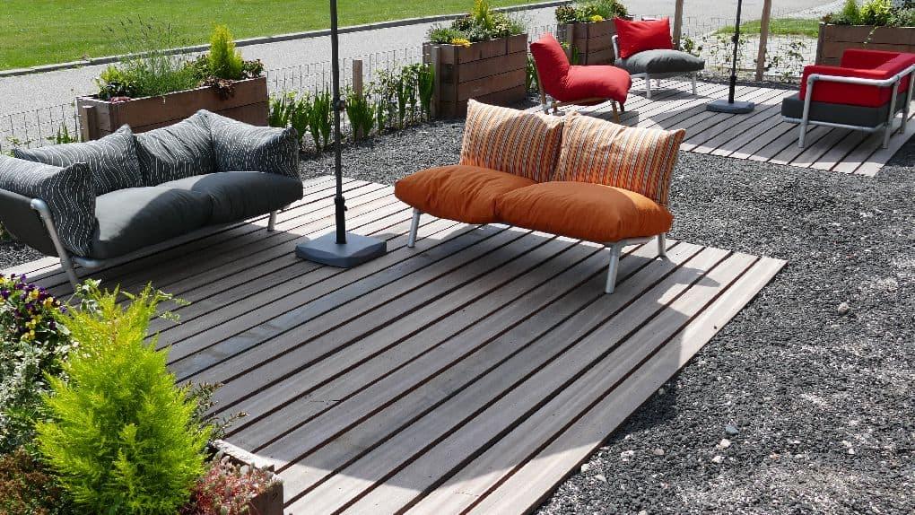steigerbuizen loungeset voor buiten in de tuin of voor op het terras