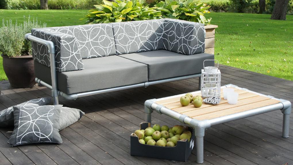 aanbieding loungebank tuin